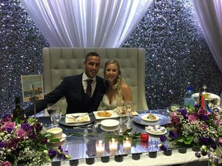 The wedding of Jillian and Frederick