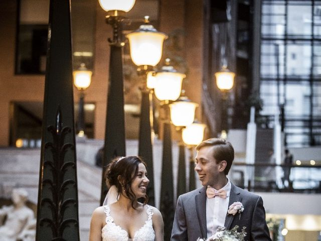 Pietro and Adriana's wedding in Montreal, Quebec 7