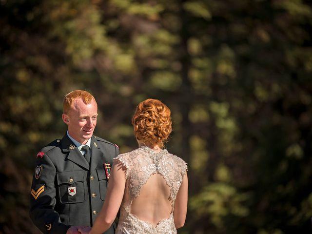 Kyle and Amber's wedding in Jasper, Alberta 2