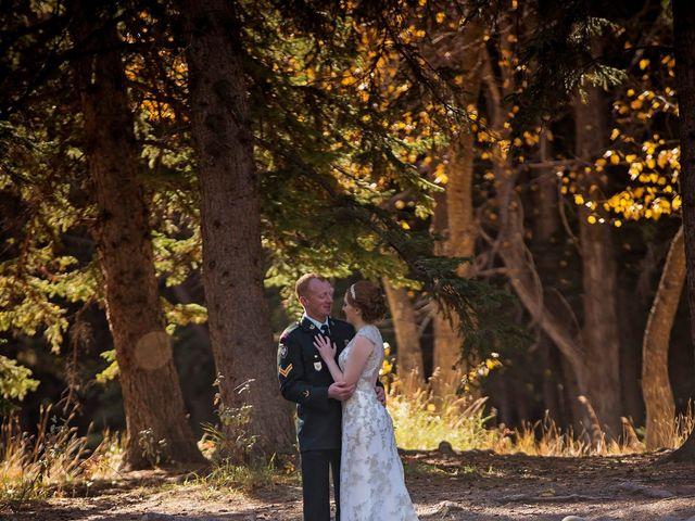 Kyle and Amber's wedding in Jasper, Alberta 7