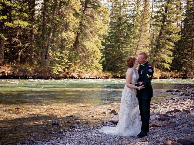 Kyle and Amber's wedding in Jasper, Alberta 9