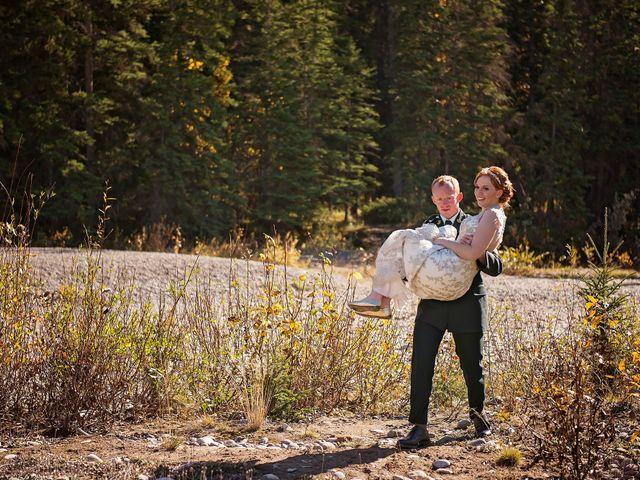 Kyle and Amber's wedding in Jasper, Alberta 10