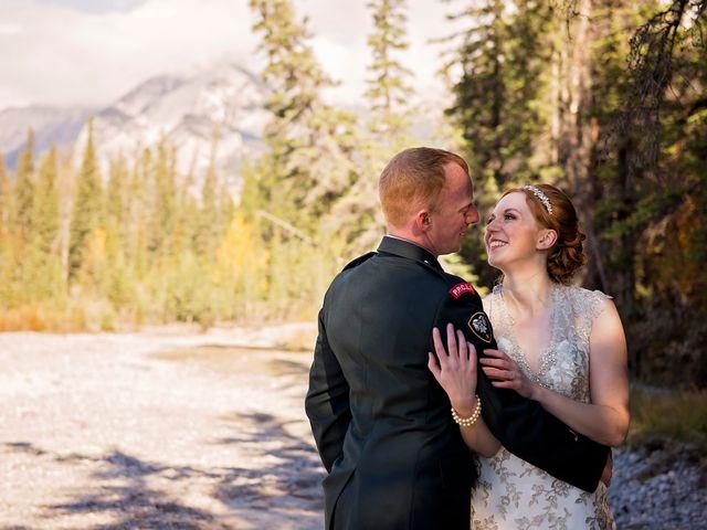 Kyle and Amber's wedding in Jasper, Alberta 11