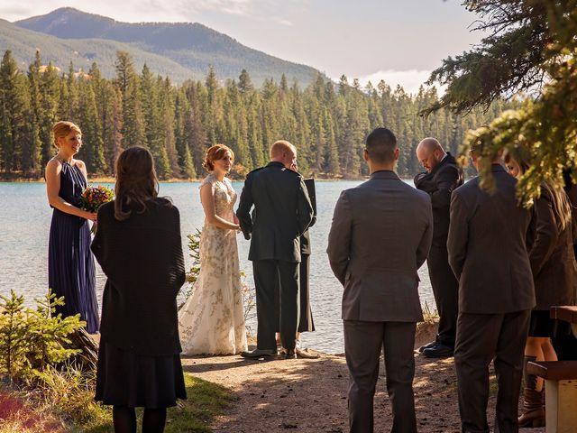Kyle and Amber's wedding in Jasper, Alberta 14