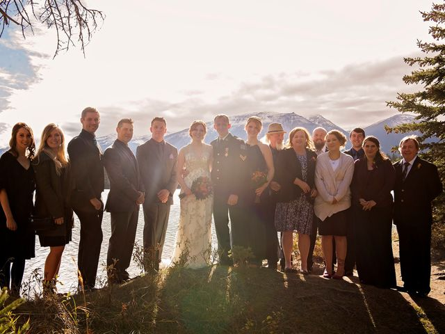 Kyle and Amber's wedding in Jasper, Alberta 16