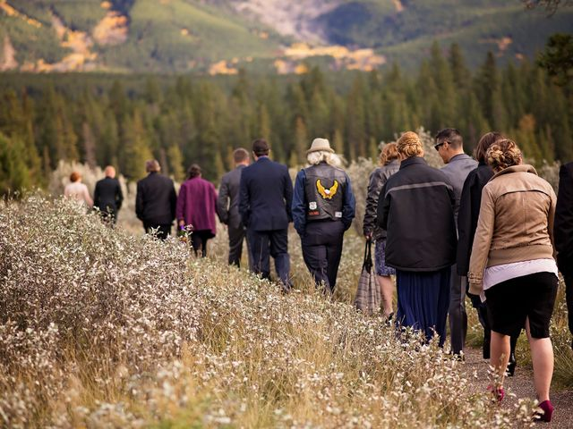 Kyle and Amber's wedding in Jasper, Alberta 19