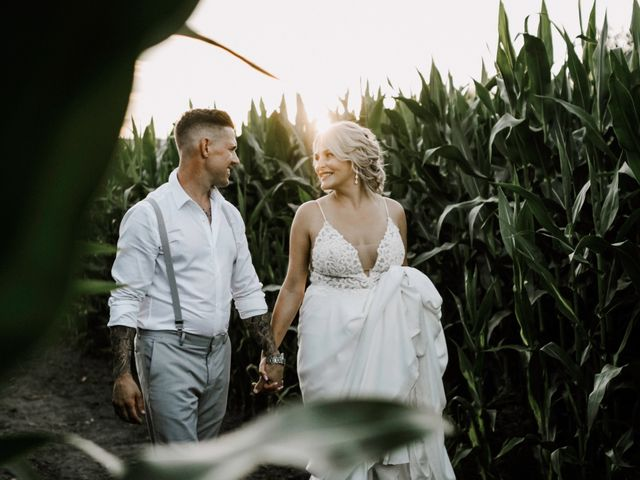 The wedding of Brittany and Devon