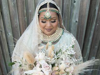 The wedding of Sheryl and Salish 3