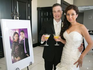 The wedding of Alejandra and Sebastian
