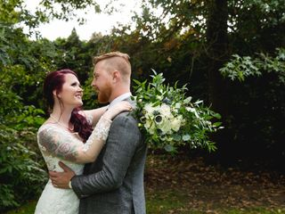 The wedding of Alexis and Aaron