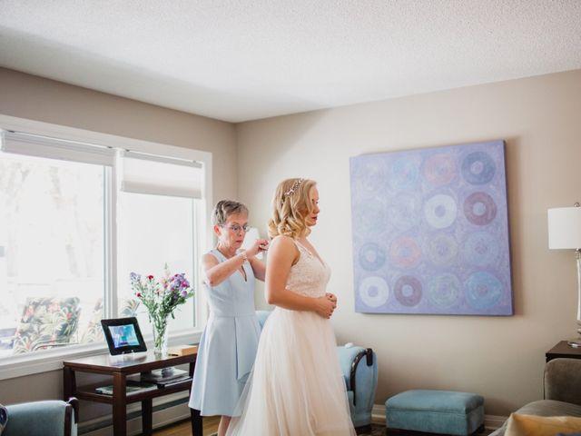 Daniel and Lucy's wedding in Lumsden, Saskatchewan 1