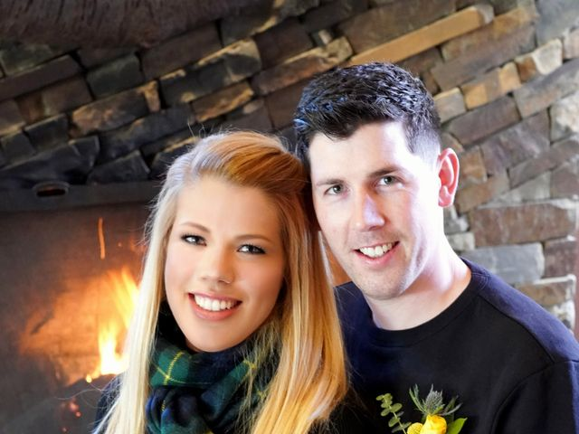 Stuart and Sarah's wedding in Banff, Alberta 4