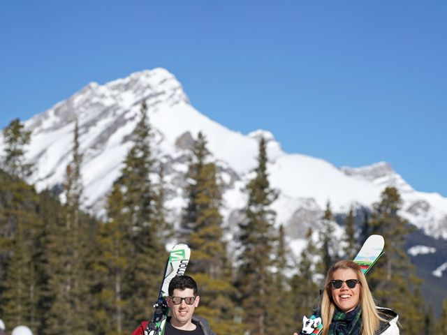Stuart and Sarah's wedding in Banff, Alberta 5