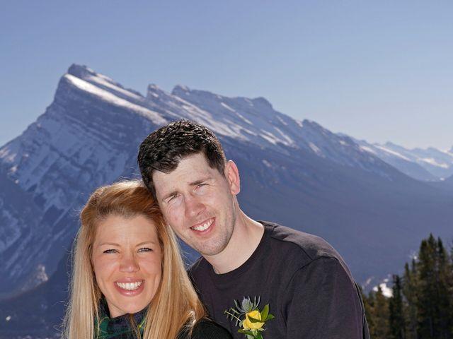 Stuart and Sarah's wedding in Banff, Alberta 9