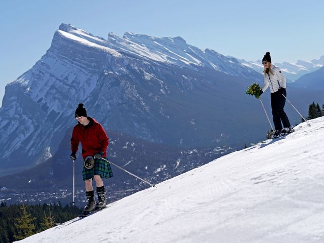 Stuart and Sarah's wedding in Banff, Alberta 2
