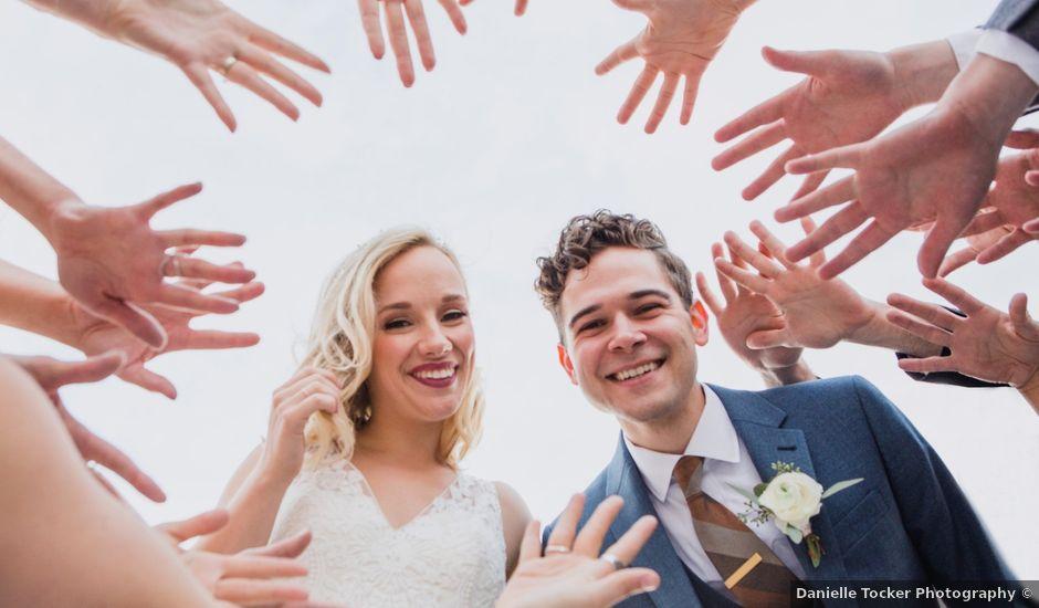 Daniel and Lucy's wedding in Lumsden, Saskatchewan