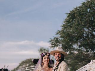 The wedding of Hannah and Mark
