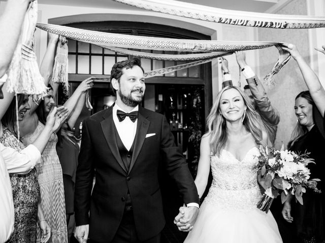The wedding of Edyta and Peter
