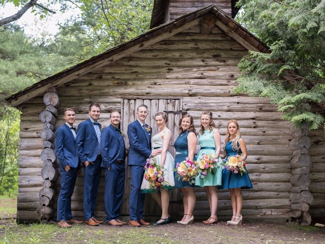 Phil and Carys's wedding in Campbellcroft, Ontario 45