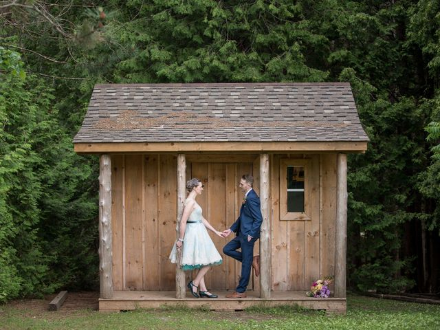 Phil and Carys's wedding in Campbellcroft, Ontario 60