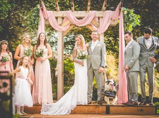 The wedding of Alyssa and Simon