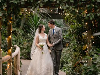 The wedding of Tavia and Andrew