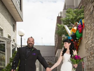 The wedding of Erin and Don
