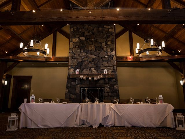 Zack and Laura's wedding in Canmore, Alberta 3