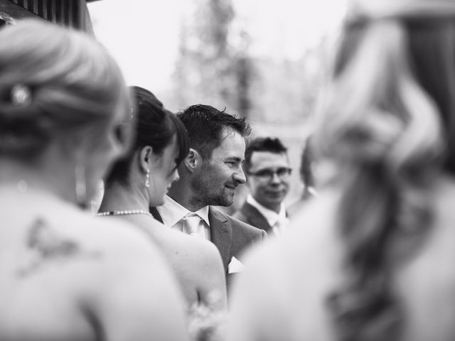 Zack and Laura's wedding in Canmore, Alberta 17