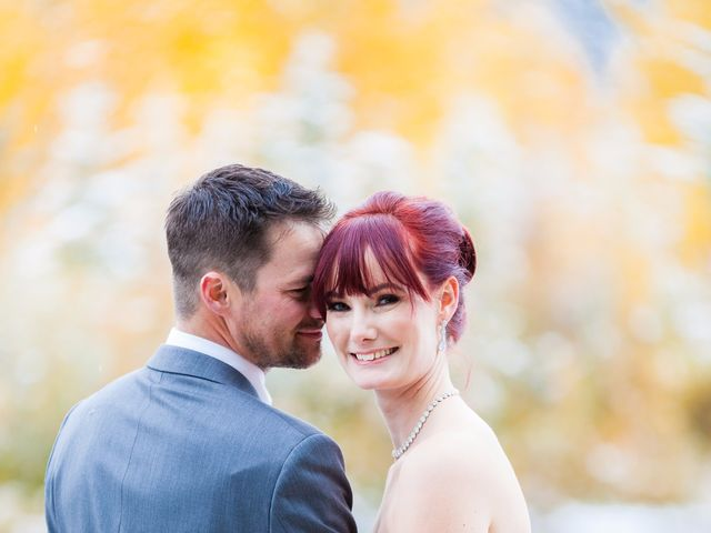 Zack and Laura's wedding in Canmore, Alberta 21
