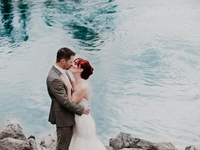 Zack and Laura's wedding in Canmore, Alberta 22