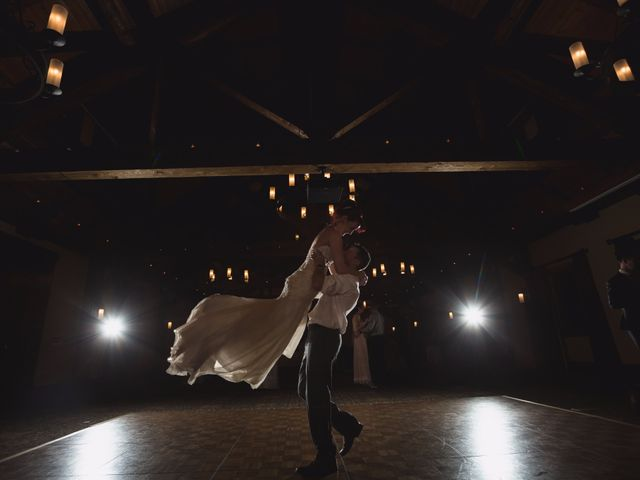 Zack and Laura's wedding in Canmore, Alberta 27