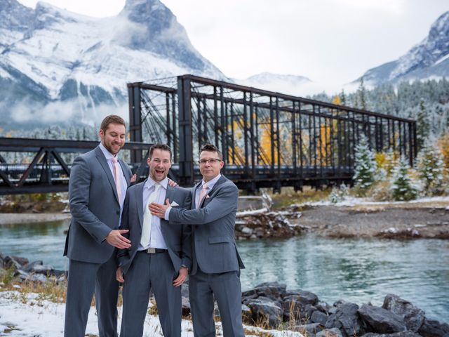 Zack and Laura's wedding in Canmore, Alberta 41
