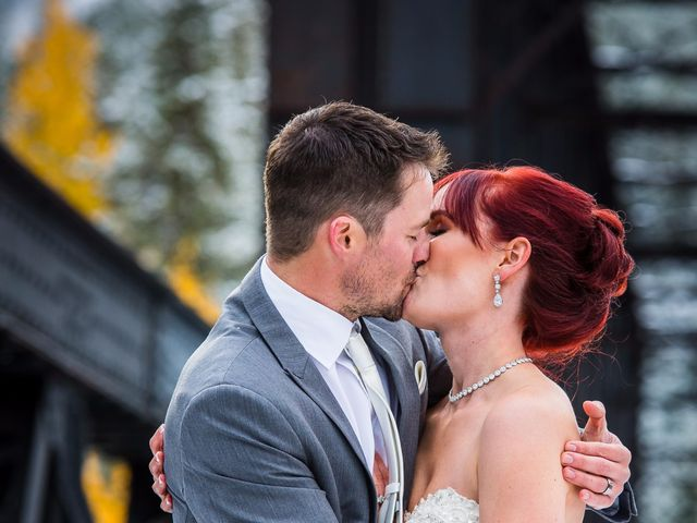 Zack and Laura's wedding in Canmore, Alberta 46