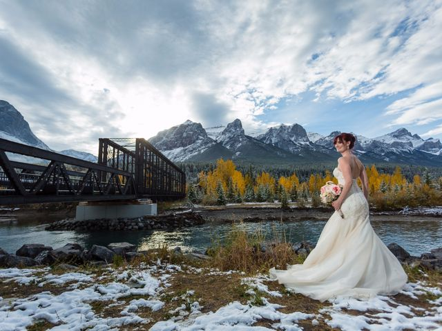 Zack and Laura's wedding in Canmore, Alberta 49