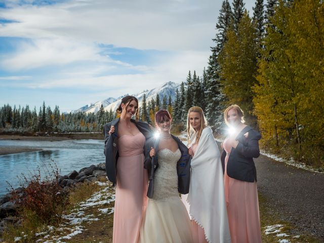 Zack and Laura's wedding in Canmore, Alberta 50