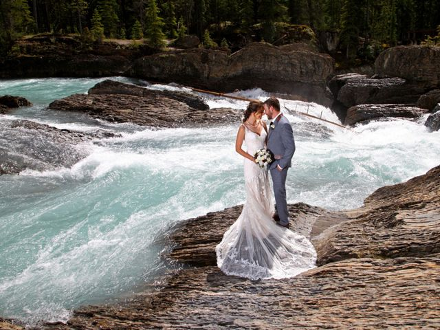 The wedding of Eryn and Ethan
