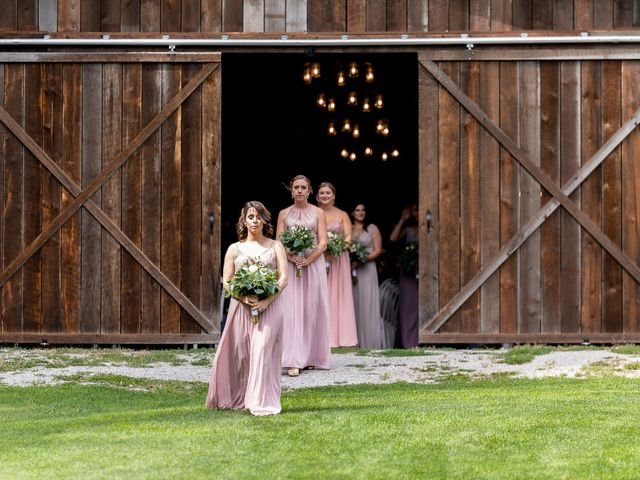 Graham and Chelsey's wedding in Salmon Arm, British Columbia 3