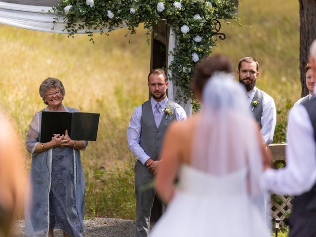 Graham and Chelsey's wedding in Salmon Arm, British Columbia 4