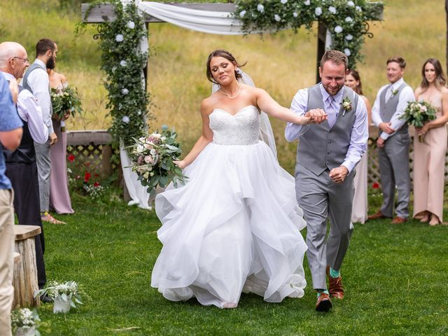 Graham and Chelsey's wedding in Salmon Arm, British Columbia 7