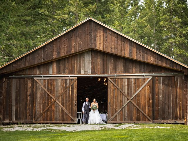 Graham and Chelsey's wedding in Salmon Arm, British Columbia 1