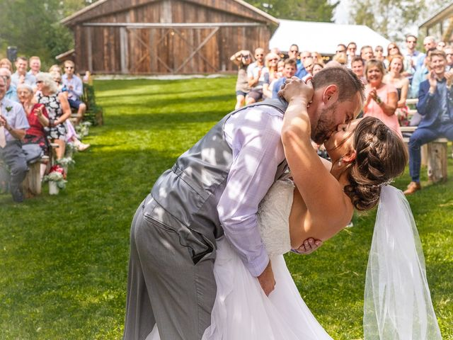 Graham and Chelsey's wedding in Salmon Arm, British Columbia 13