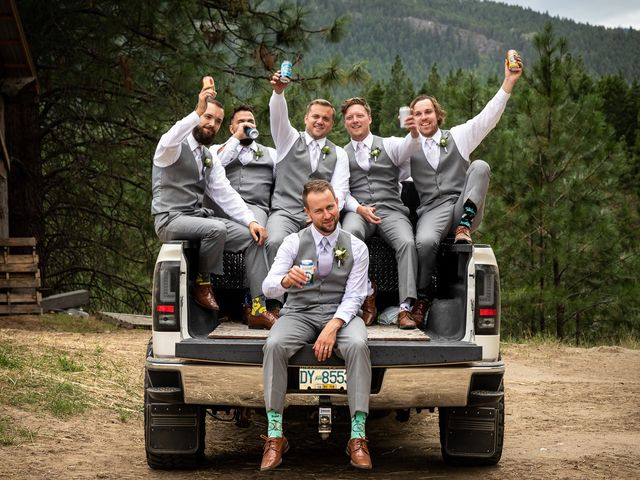 Graham and Chelsey's wedding in Salmon Arm, British Columbia 24