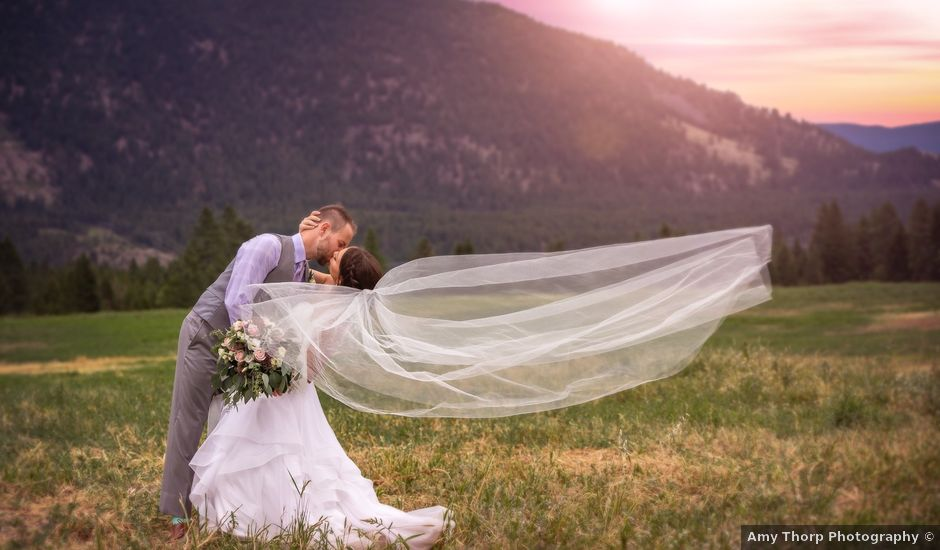 Graham and Chelsey's wedding in Salmon Arm, British Columbia