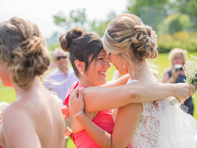 Carl and Vanessa's wedding in Lac-Delage, Quebec 29