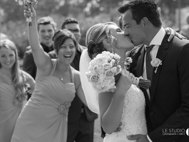 Carl and Vanessa's wedding in Lac-Delage, Quebec 45