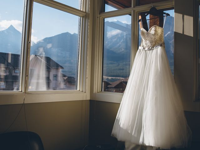 Dustin and Desaree's wedding in Canmore, Alberta 2