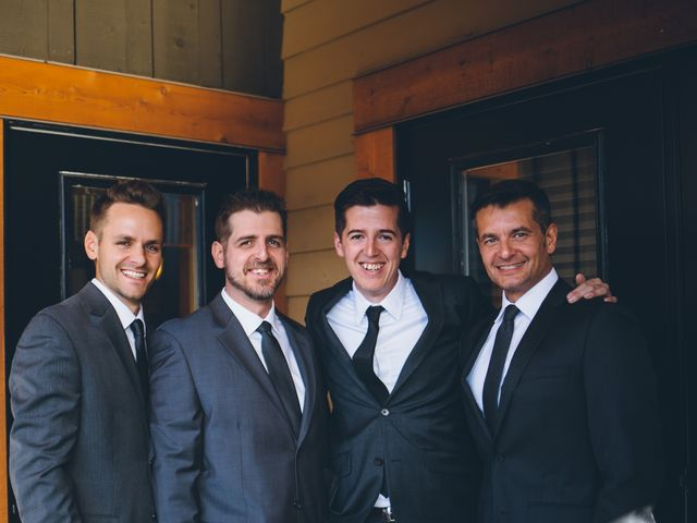 Dustin and Desaree's wedding in Canmore, Alberta 10
