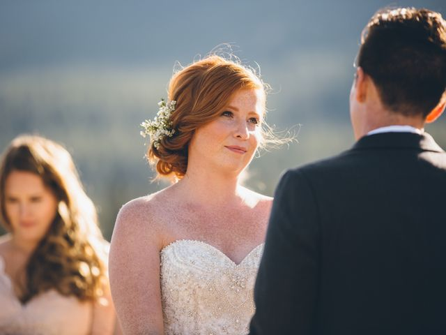 Dustin and Desaree's wedding in Canmore, Alberta 20