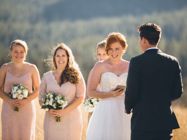 Dustin and Desaree's wedding in Canmore, Alberta 21